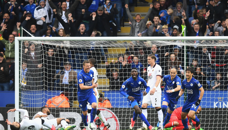 Wilfred Ndidi Blasts Opener in Leicester City's 3-0 win over Watford