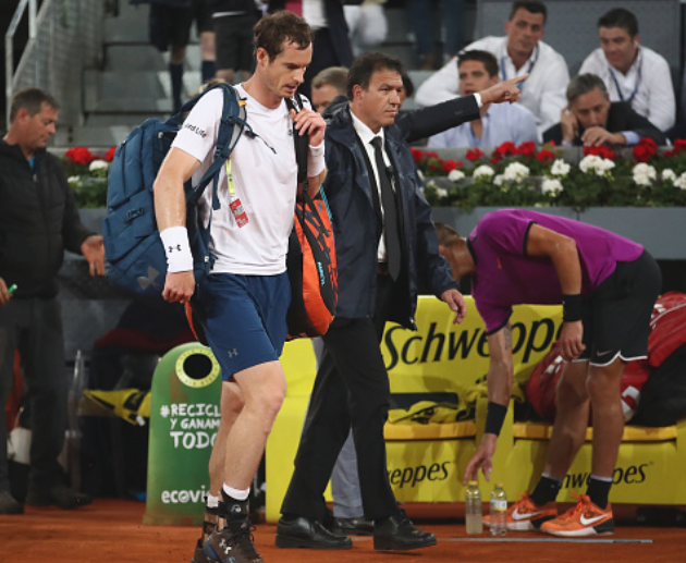 Murray out of Madrid Open after straight sets defeat to Borna Coric