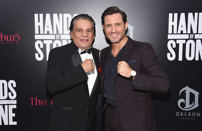 Roberto Duran: 'Fighters would take one look at me and crap in their pants'