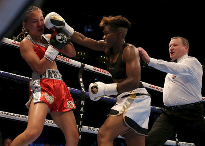 Nicola Adams delighted to be given tough test by gutsy Mexican Maryan Salazar