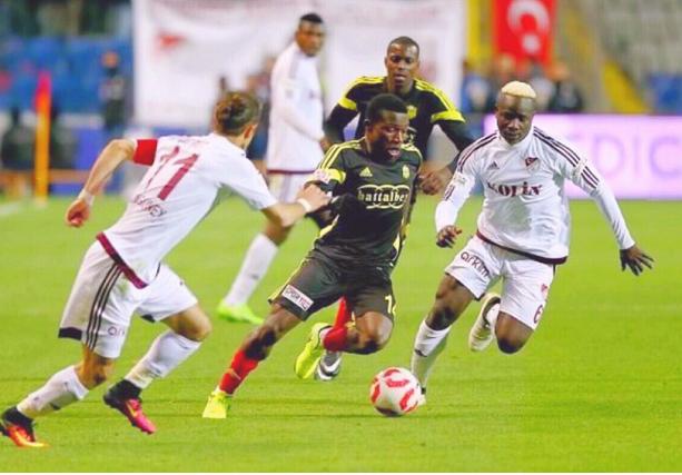 Azubuike Okechukwu, Sunday Mba Celebrate Yeni Malatyaspor's Super Lig Promotion