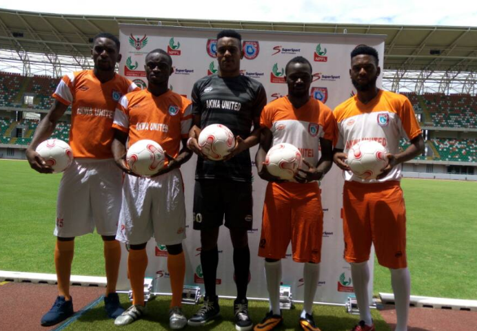 Akwa United Unveils Five New Signings