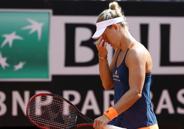 Angelique Kerber dumped out of Italian Open after shock defeat to Estonian World Number 68
