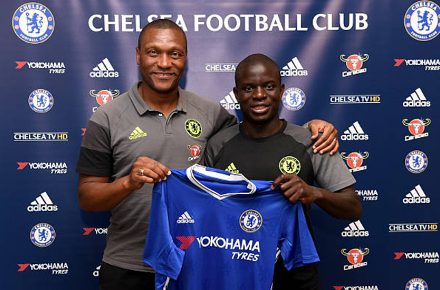 Chelsea Director Emenalo Sends Leicester 'Thank You' Present for N'Golo Kante