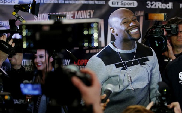 Floyd Mayweather talks about kicking a***s, Sparks further talk of Return