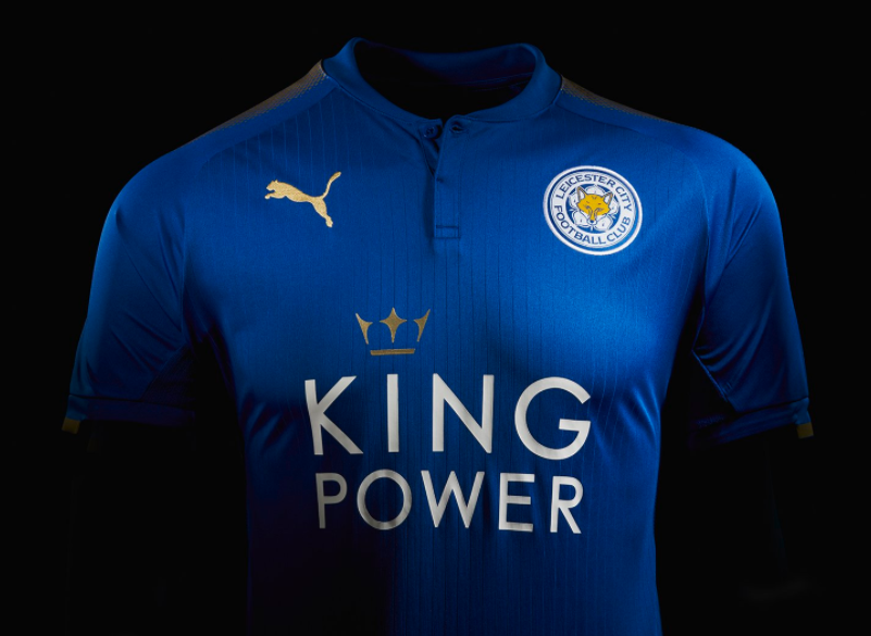 Leicester unveil their new home kit for the 2017-18 season