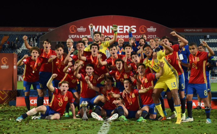 Spain crowned record U-17 European champions