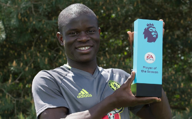 N'golo Kante Crowned Premier League Player of the Season