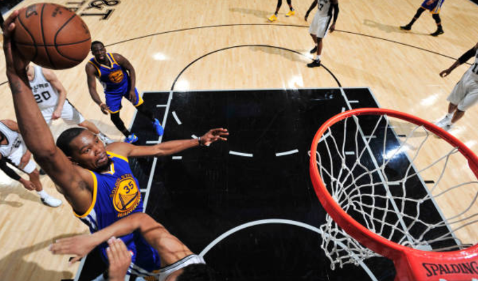 Kevin Durant pours pain on Spurs as Golden State take 3-0 Conference finals lead