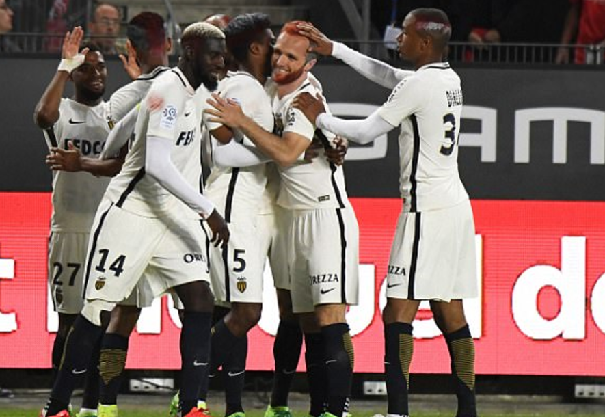 Rennes 2-3 Monaco: Champions in party mood as Players and Staff dyed their hair