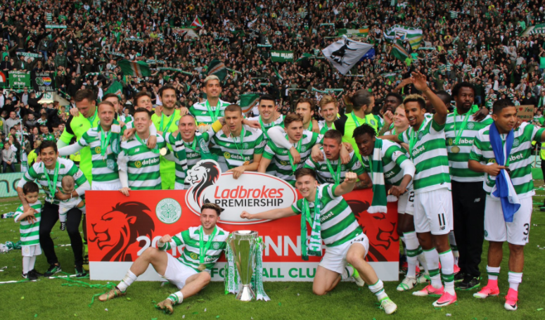 Invincibles! Celtic go Unbeaten in Scotland, Efe Ambrose gets a Medal