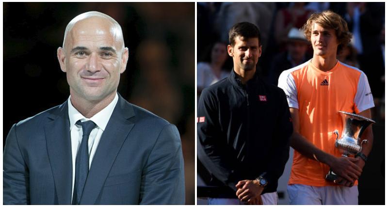 Novak Djokovic loses Rome Masters to Alexander Zverev, hires Andre Agassi