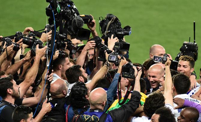 Zidane Guides Real Madrid to La Liga Crown