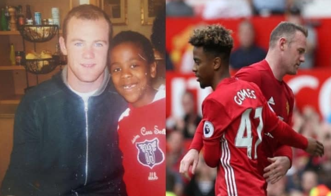 'Dreams Come True… If You Believe' – Angel Gomes