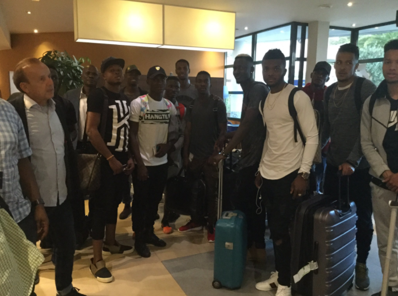 Super Eagles train Today, More players expected in Corsica