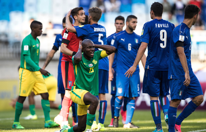 South Africa 0-2 Italy: Amajita facing World Cup Elimination