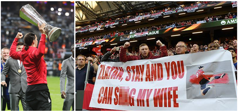 Stay and You can Shag My Wife! Fan's Tempting Offer to Zlatan