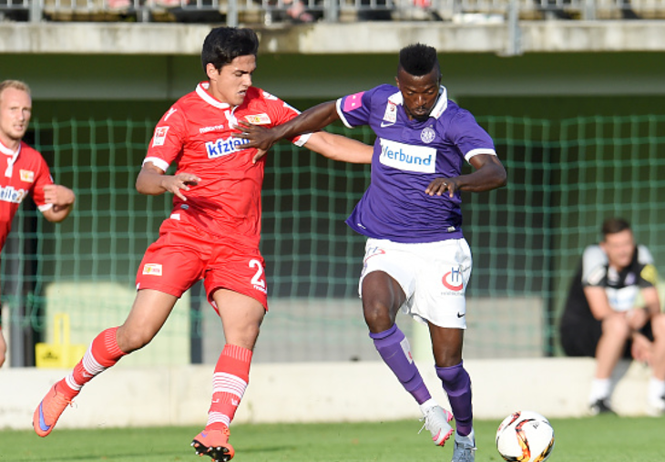 Olanrewaju Scores Again, but Austria Wien Lose