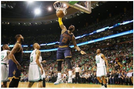 LeBron James breaks Michael Jordan's play-off scoring record
