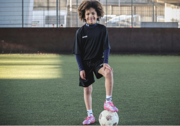Video: Watch Chelsea's 10-year-old Starboy Denim Nnamudi (Nnamdi)