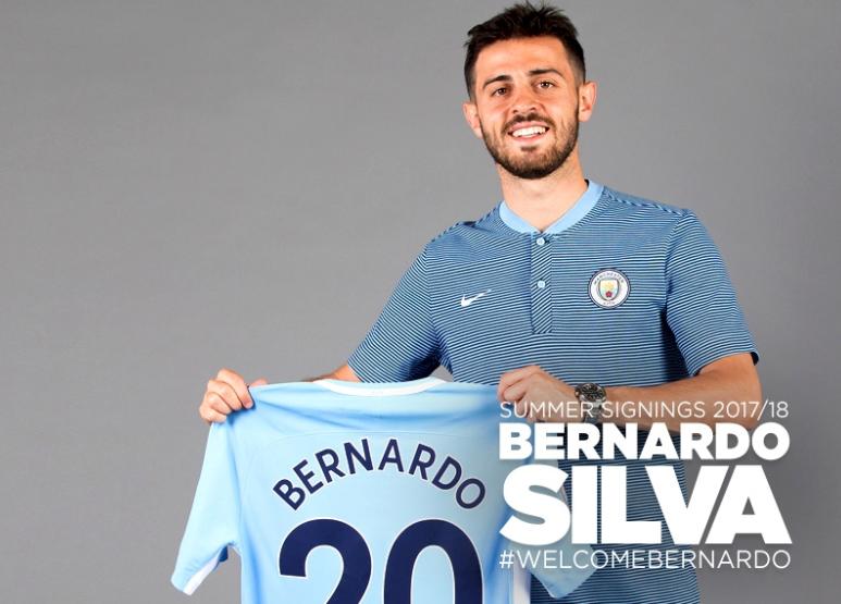 Manchester City agrees £43m transfer for AS Monaco's Bernardo Silva