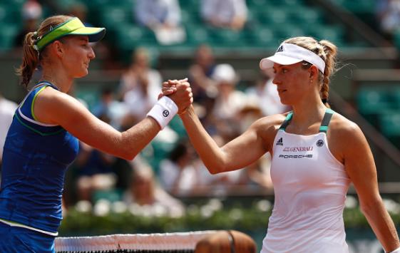 Top-seeded Angelique Kerber upset by Ekaterina Makarova