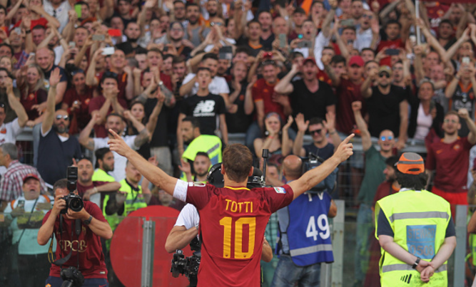 Totti: I´m not ready to say it´s over