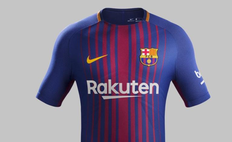 Barcelona unveil new home kit for 2017-18 season