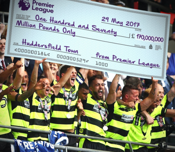 Huddersfield Town gain Premier League Promotion