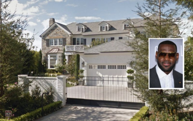 N-word scrawled on LeBron James's LA home before NBA finals