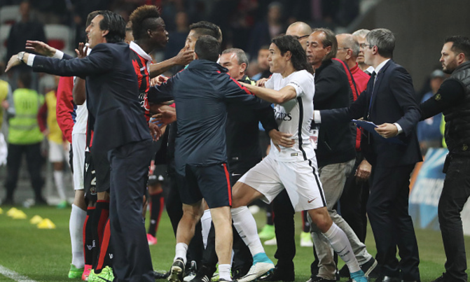 Balotelli the Spoiler! Leads OGC Nice in 3-1 win Over PSG