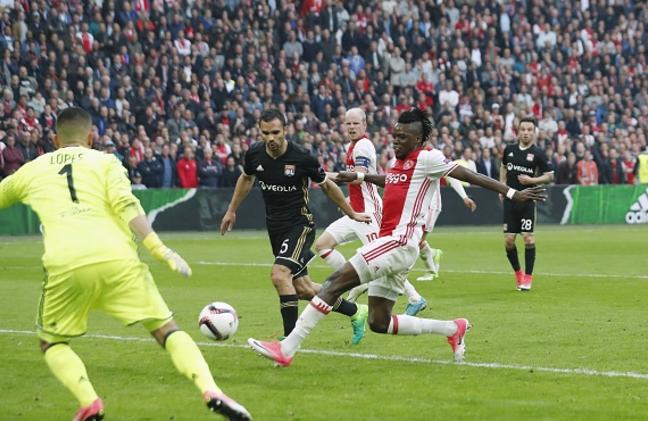 Traore bags brace as Ajax beats Lyon 4-1 in Europa semis