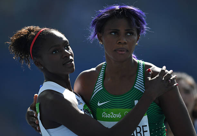 Okagbare Back on the Tracks, Coasts to Victory in Texas