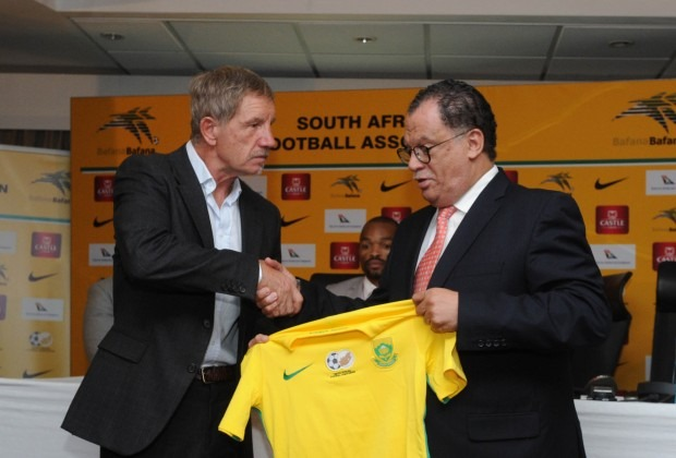 First Day in Office for New Bafana Coach, Baxter To Name Squad for Nigeria on Thursday
