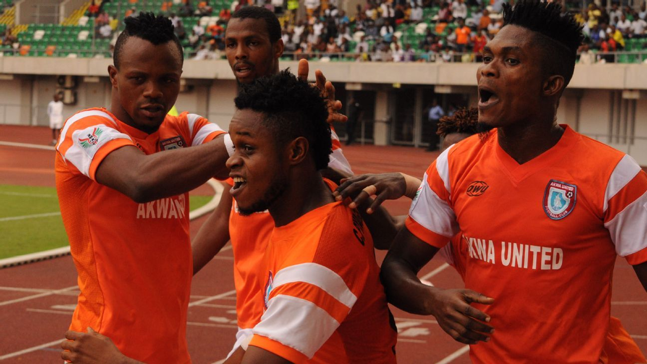 Akwa united Alhassan Ibrahim hopes to make the final team of Rohr's selection.
