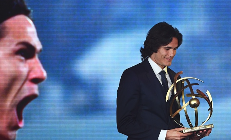 Edinson Cavani voted Ligue 1 Player of the Season as AS Monaco sweeps other awards