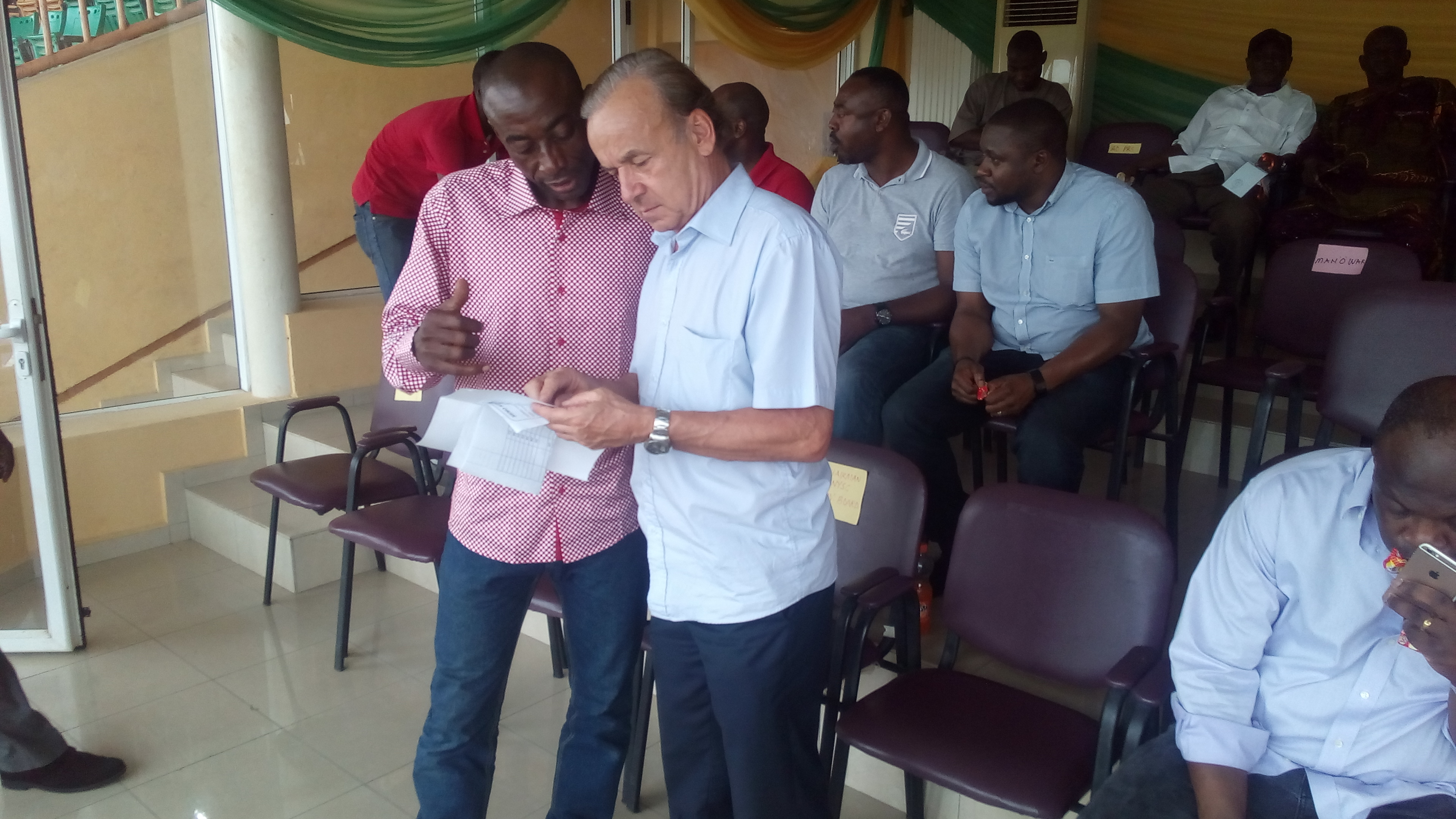 Gernot Rohr's Headache good for Nigerian Football