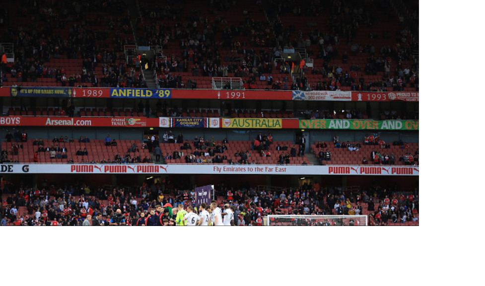 Arsenal fans Boycott matchday attendance in protest against Wenger.