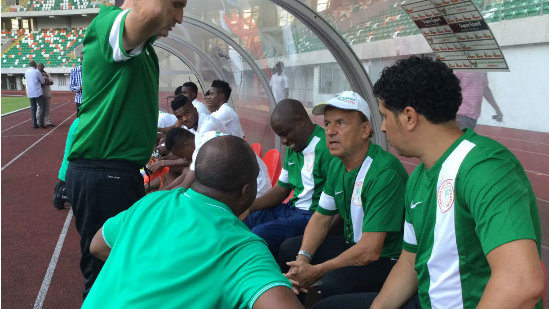 Rohr explains why it's difficult for NPFL players to break into the Super Eagles