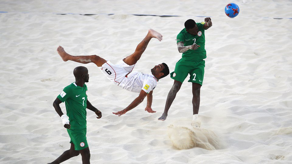 FIFA Beach Soccer World Cup: Iran drop Nigeria on penalties