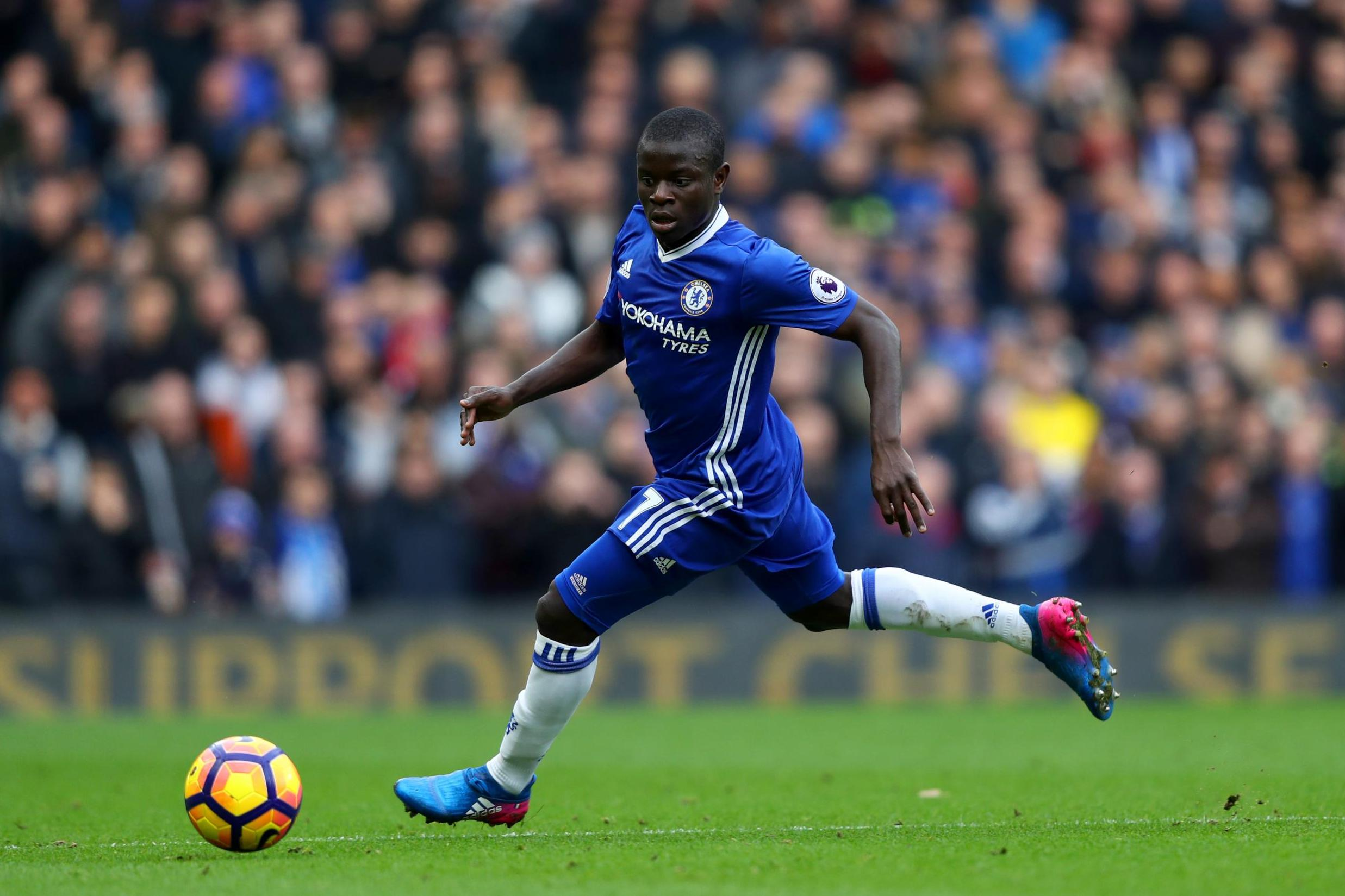 Kante: Count your blessings, wins Football Writers' Association player of the year award