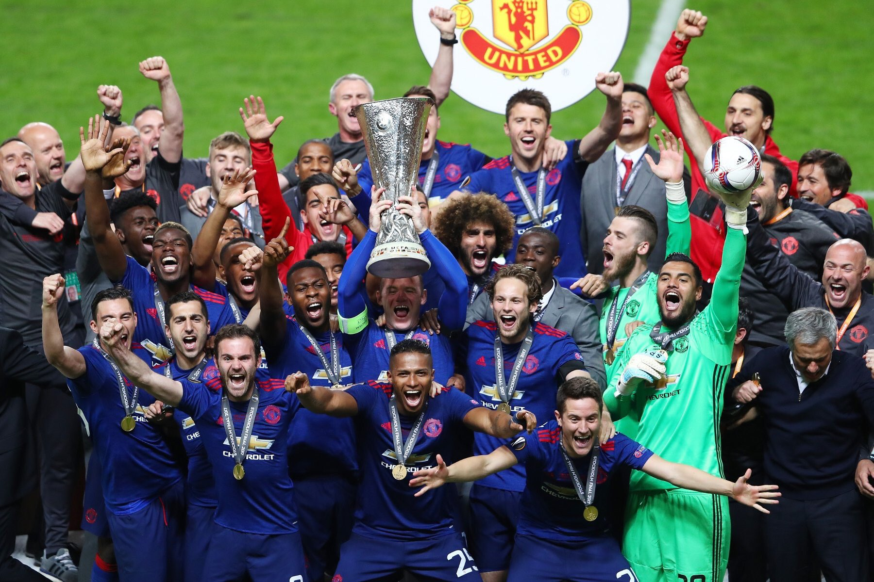 Manchester United crowned Europa League Kings.