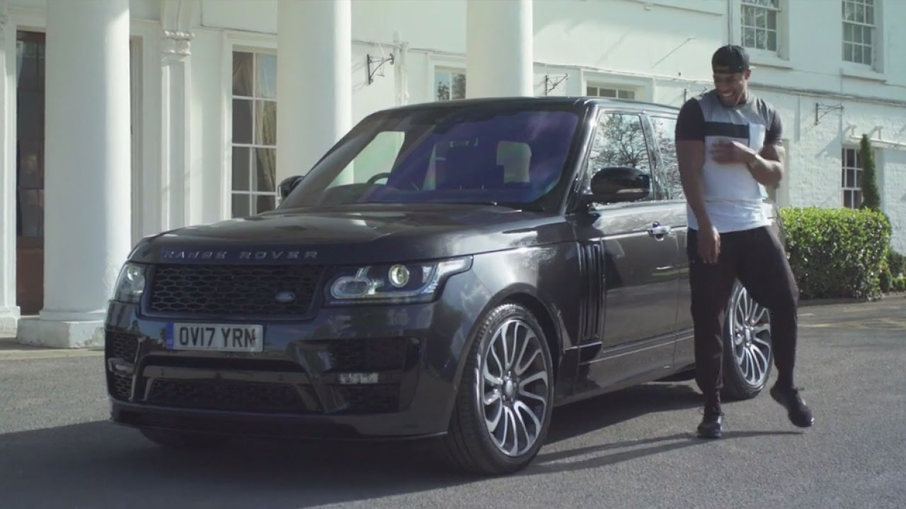Anthony Joshua Gets New Customized Range Rover