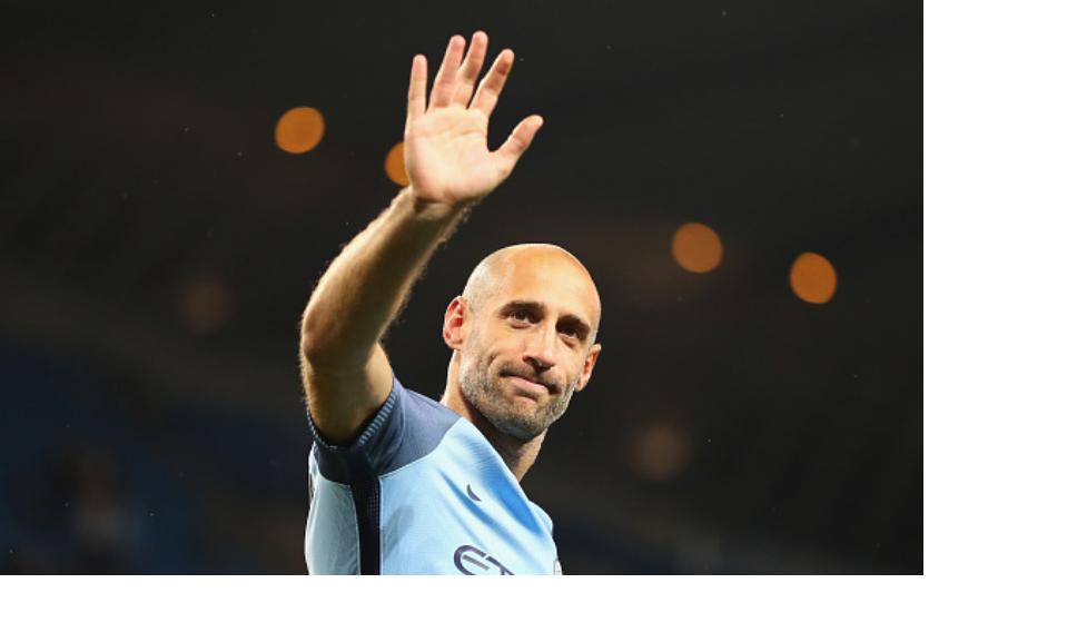 Blue Blood Pablo Zabaleta bids Manchester City emotional farewell
