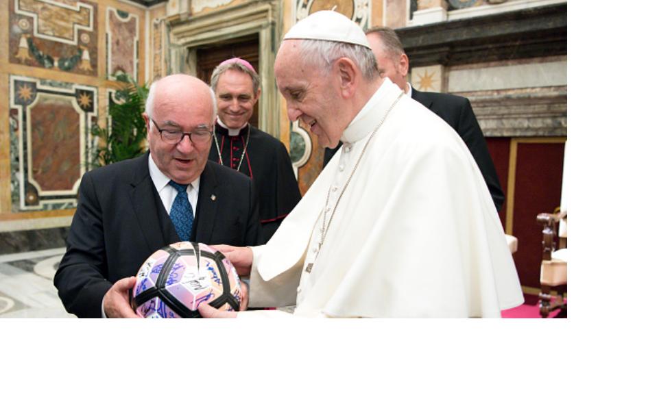 Juventus, Lazio visits Pope Francis ahead of Italian Cup final