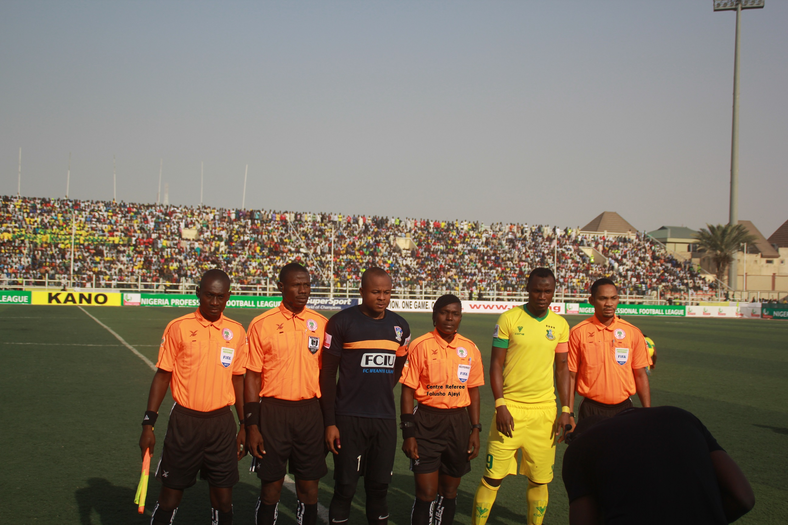 Nigeria Female Referees get more training to meet up with their male counterparts