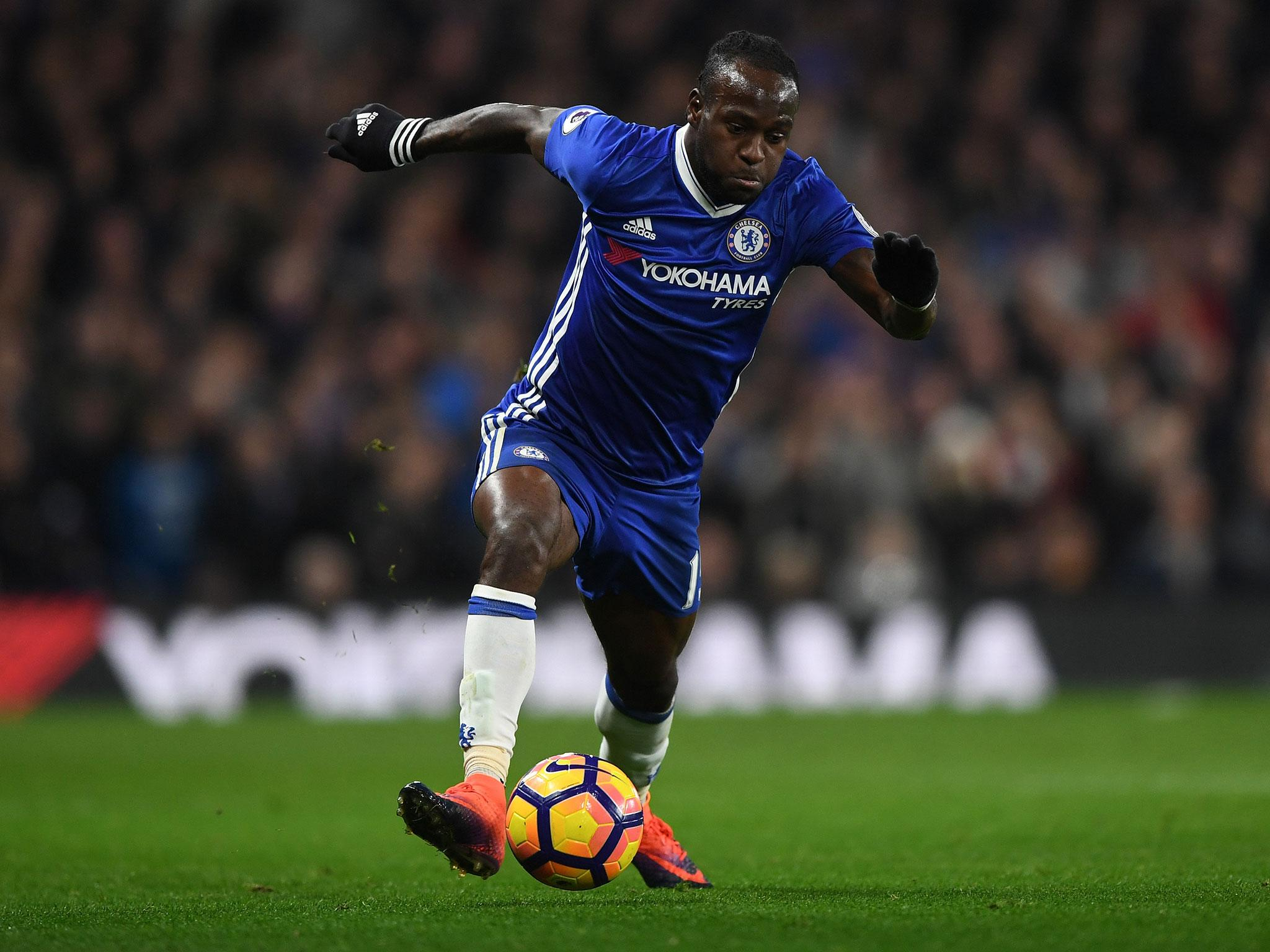 Victor Moses set to return from injury to face Liverpool