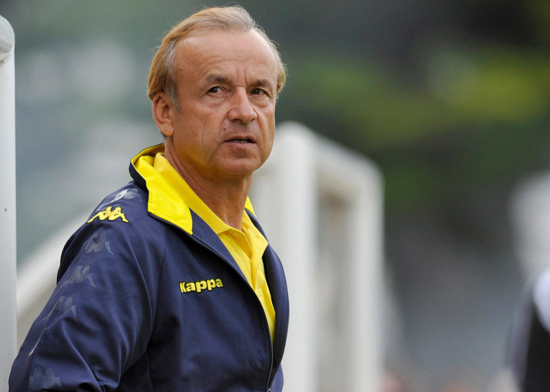 Gernot Rohr is confident of starting AFCON qualifier on a winning note