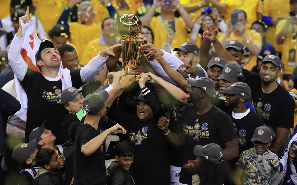 Warriors beat Cavaliers to claim 2nd NBA title in two years