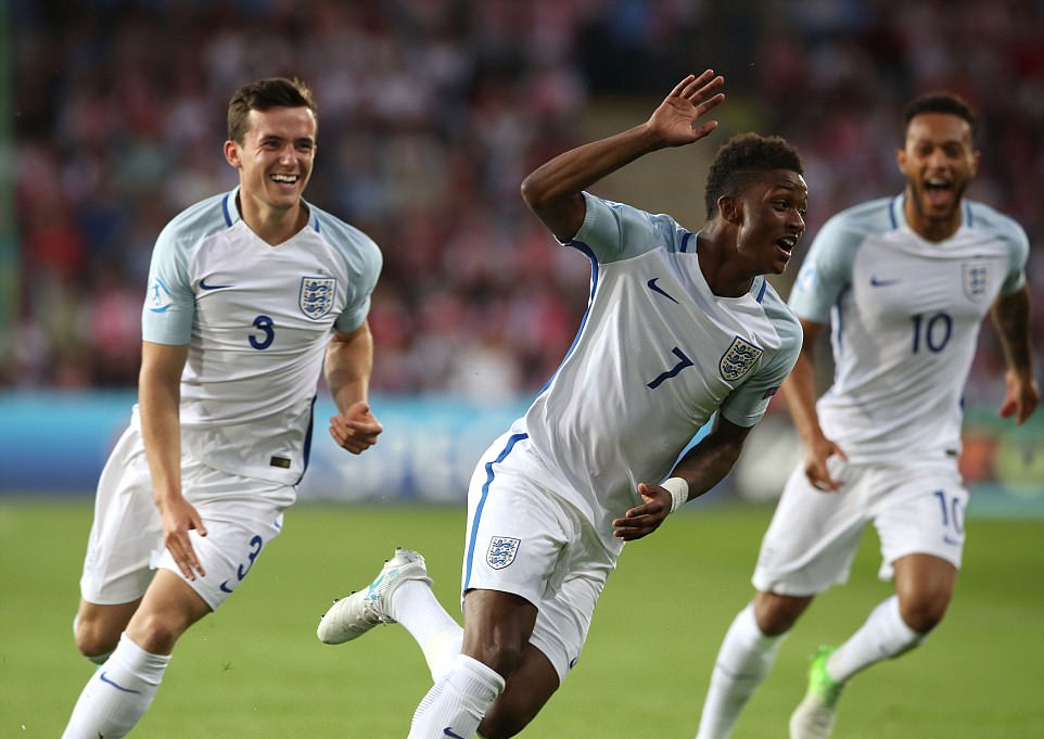 Demarai Gray shows quality in England U21s 3-0 Poland U21s game
